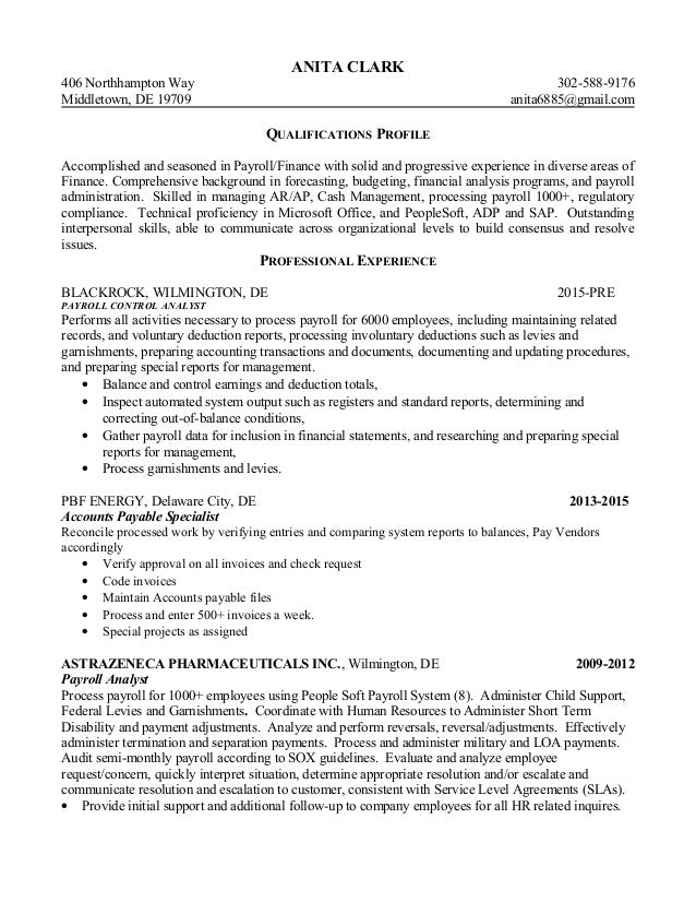 Amazing Pbf Energy Resume Collection - Administrative Officer Cover ...