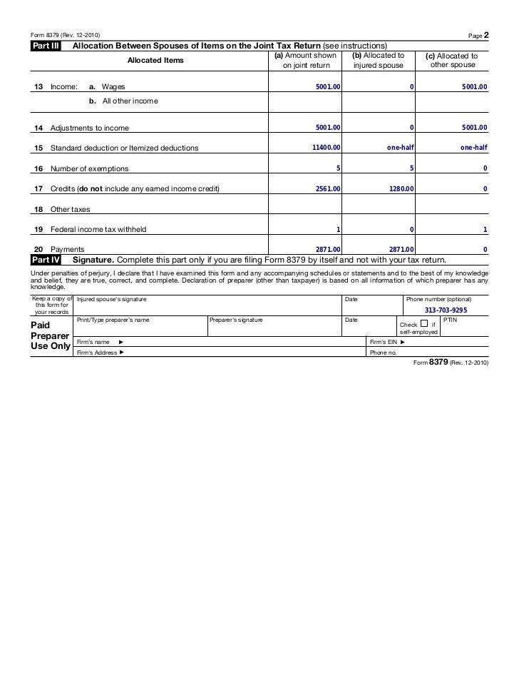 8379 Form Instructions Keninamas