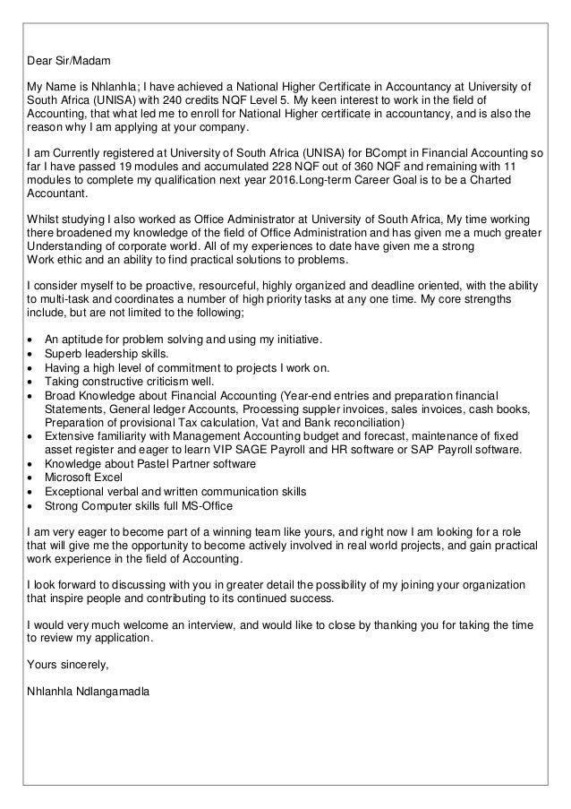 Resume of Nhlanhla Ndlangamadla Accountant (1)