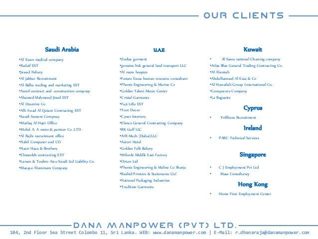 DANA+Manpower+Profile PDF