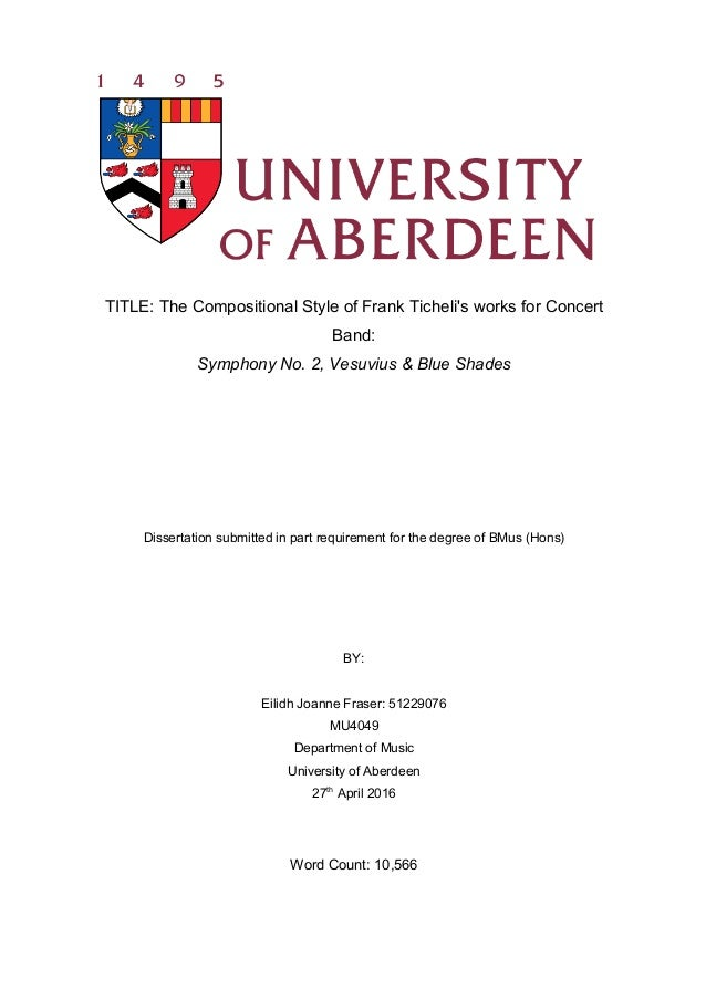Dissertation university georgia