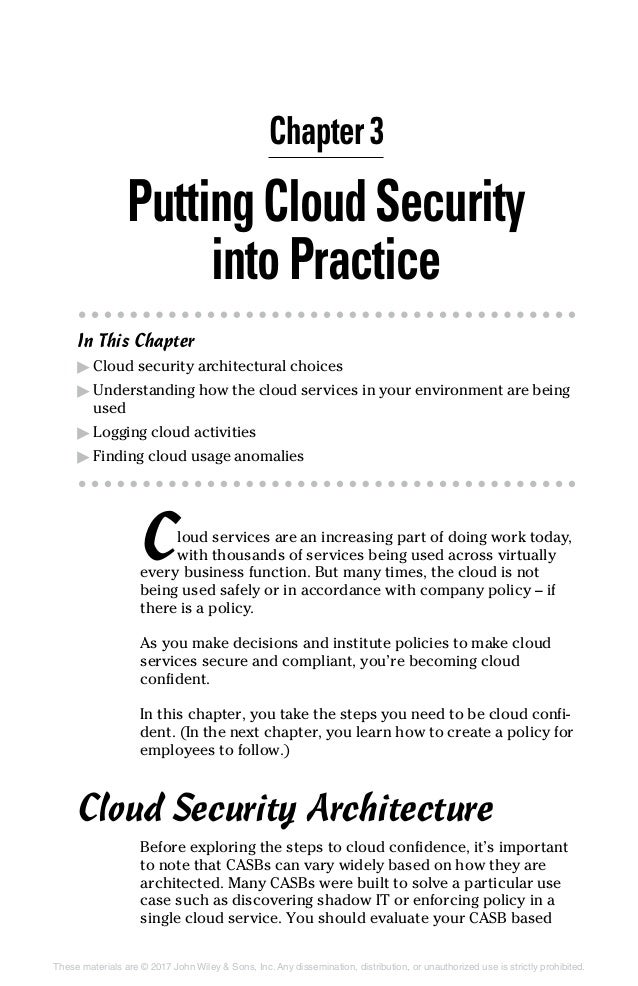 Cloud security for dummies netskope you should evaluate your casb based chapter 3 25 fandeluxe Gallery