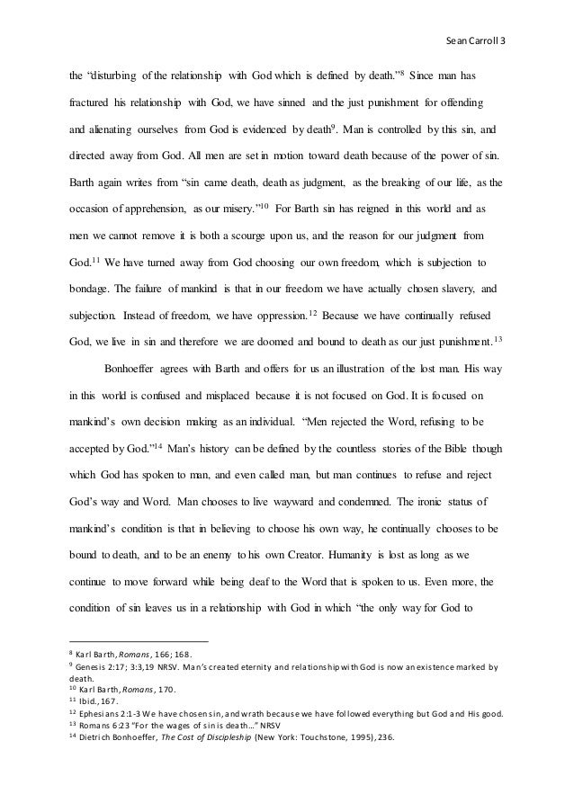 essay about relationship with god