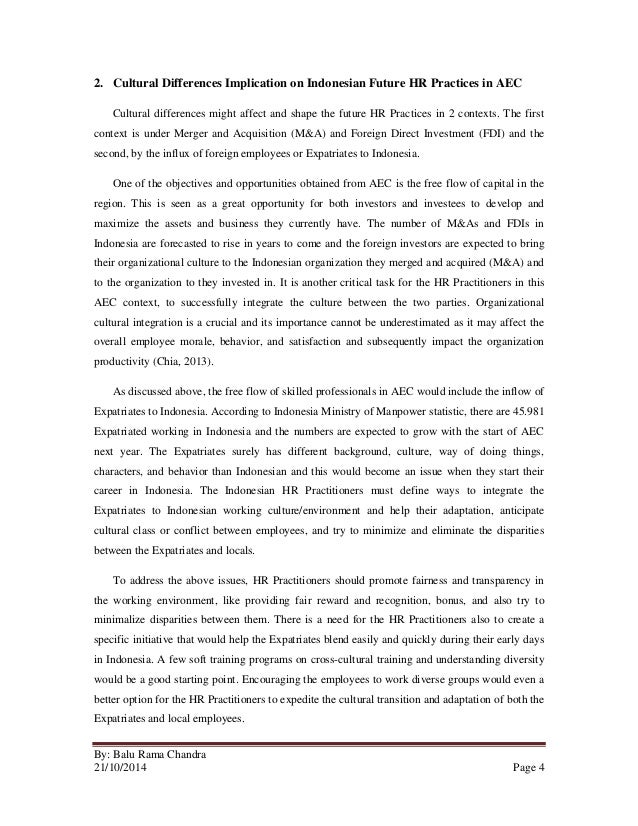 essay about indonesian culture
