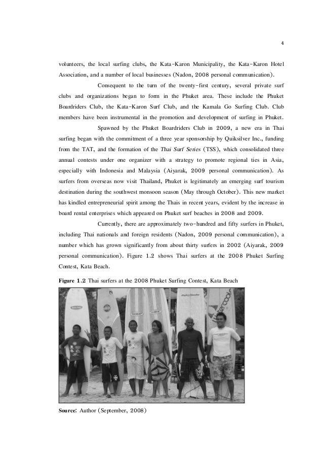 Volunteer dissertation