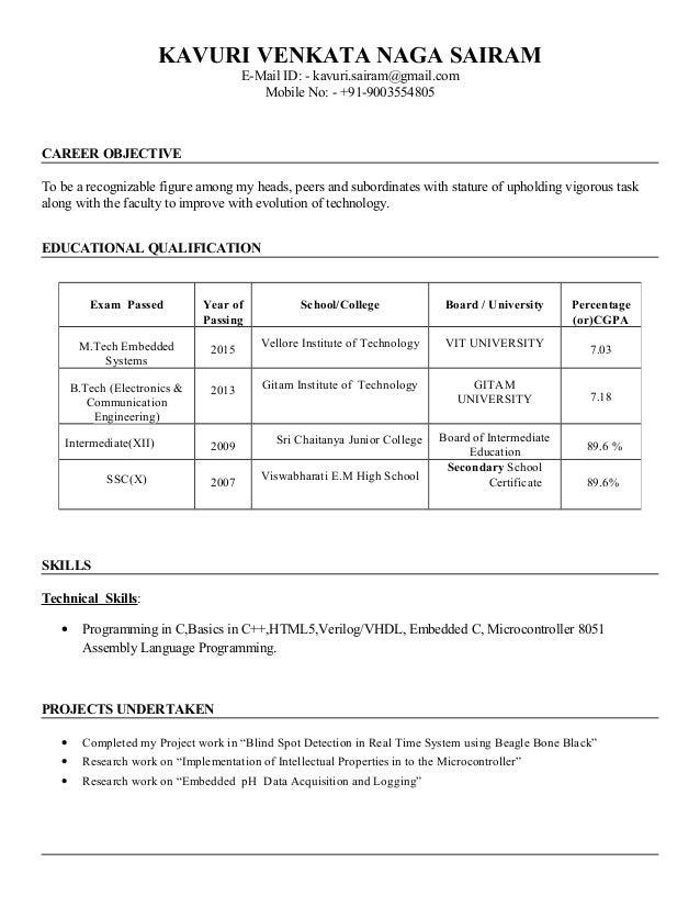 shanmugapriya resume