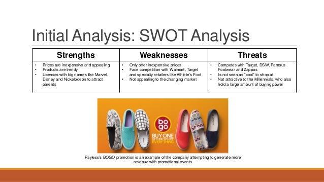 Swot analysis payless shoe source