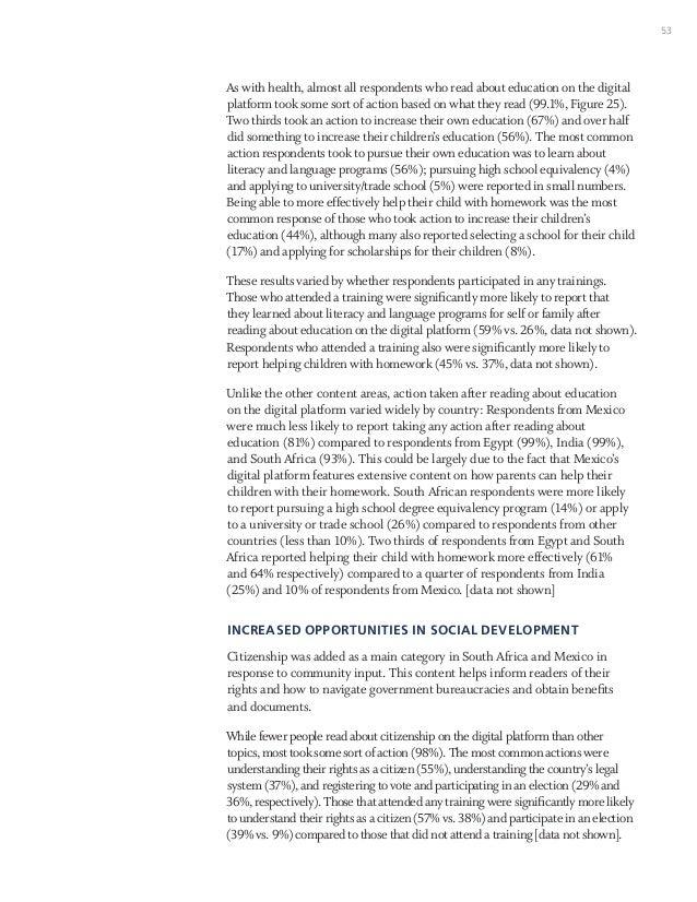 Social Impact Evaluation Report
