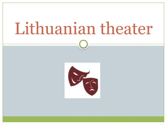 Lithuanian theater