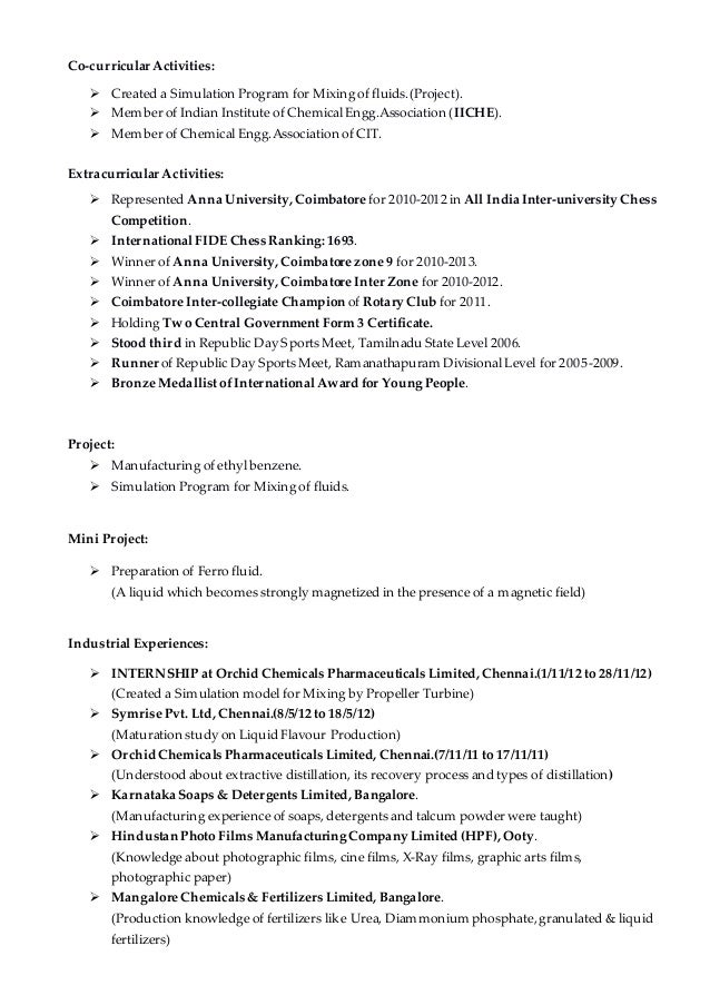 Additional coursework on resume 2012