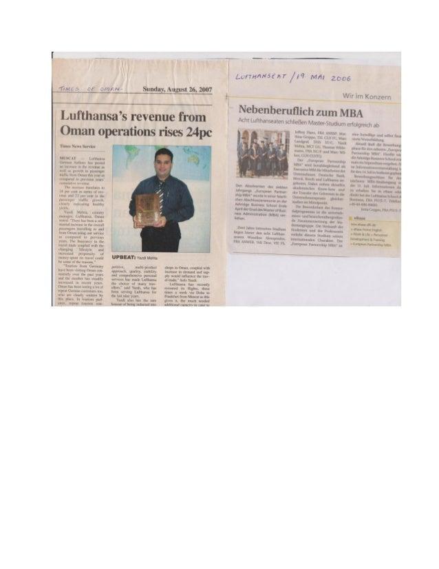 NEWSPAPER ARTICLES 1