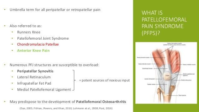 Patellofemoral Pain Syndrome Final