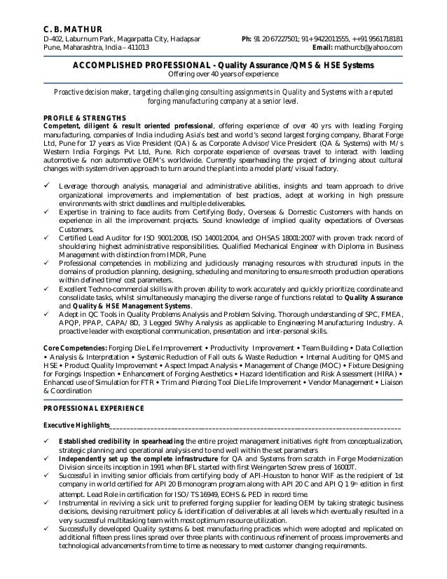 Resume 20th August Aug 15