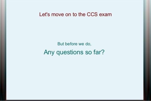 csi certification presentation rh slideshare net Social Study Exam Grade 7 Example Nce Exam Study Guide