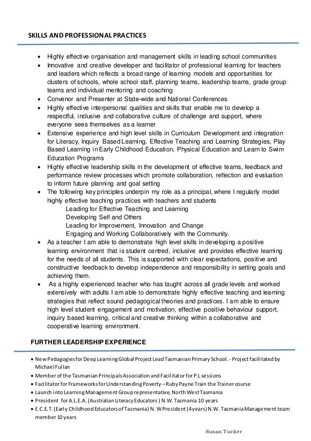 Support Group Facilitator Skills For Resume