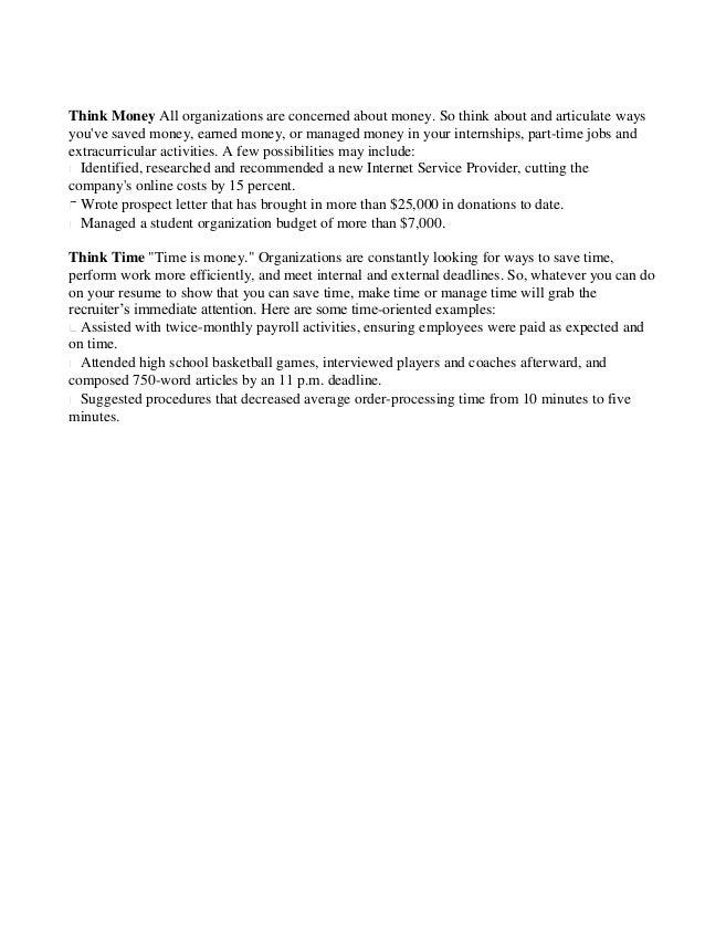 sample federal resume ksa