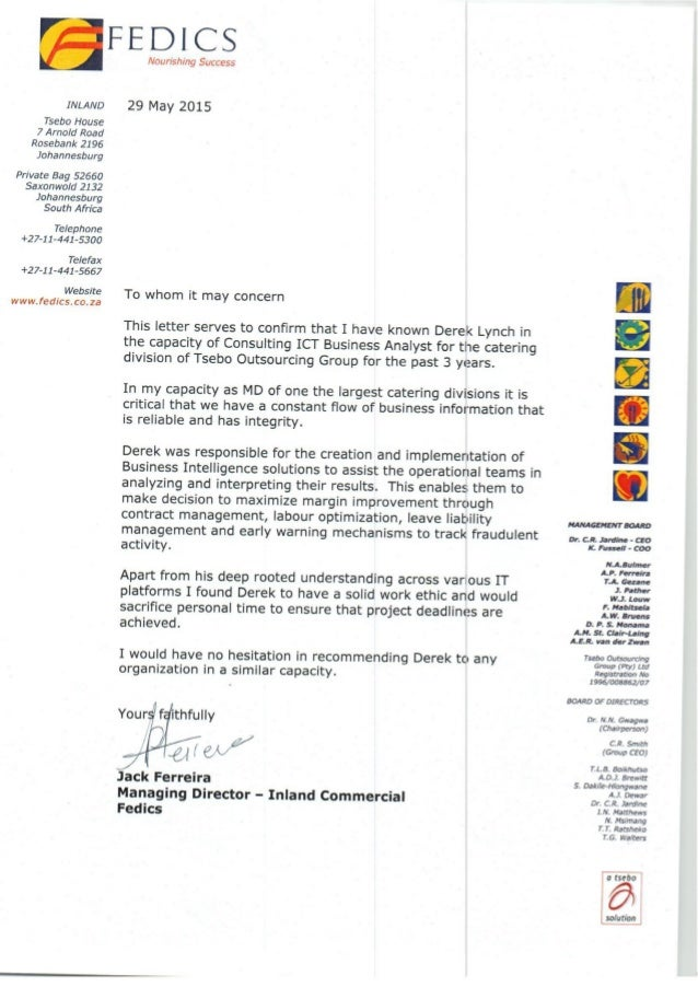 Reference Letter Jack Ferreira