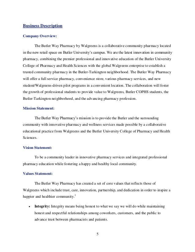 walgreens mission statement