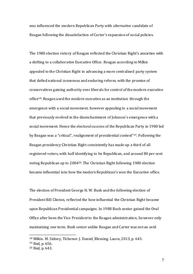 american politics major essay final copy 7