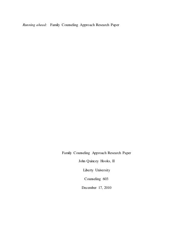 pastoral counseling research paper Pastoral reflection paper abstract this paper shares a reflection of my pastoral counseling experiences - pastoral reflection paper introduction.