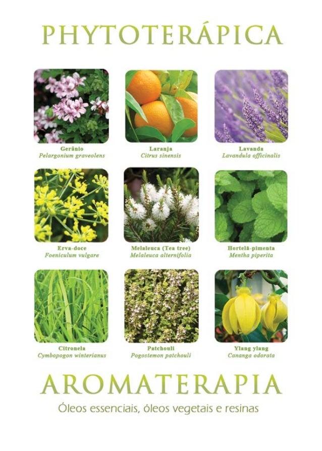 1 PHYTOTERÁPICA - Aromaterapia