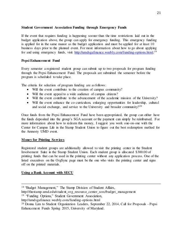 Amnesty International President Manual