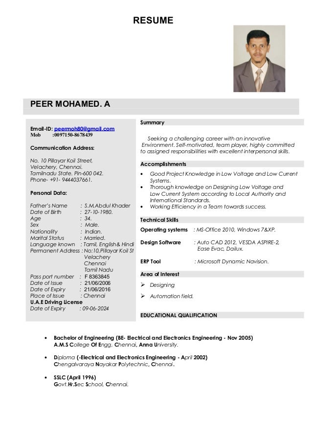 Fire Alarm System Engineer Resume - Professional Resume Templates •