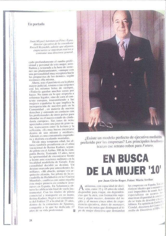 Management article in Futuro magazine