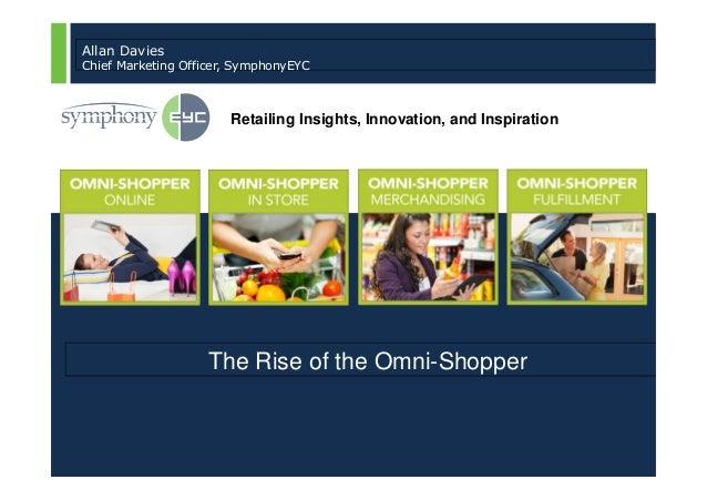 Allan Davies   Chief Marketing Officer, SymphonyEYC                                                   Retailing Insights, ...