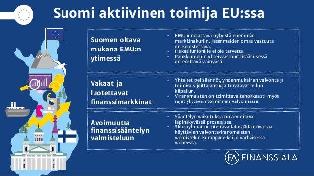 Finanssialan EU-tavoitteet 2019 Slide 2