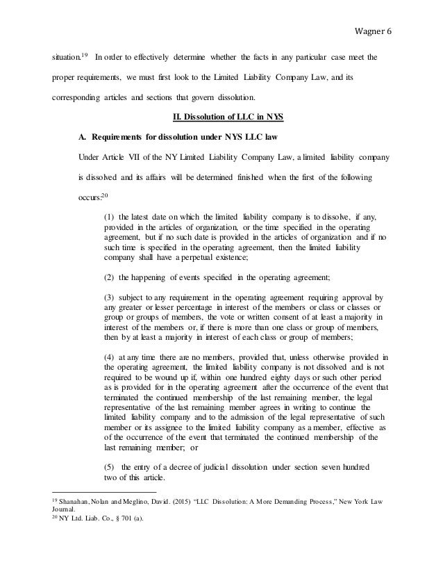 Sample Operating Agreement For Two Member Llc Aprilonthemarchco - Dissolution agreement llc template