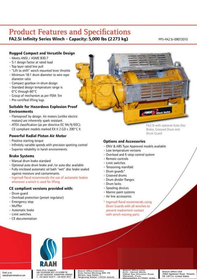 Raah International suppliers for Ingersoll Rand Utility Air