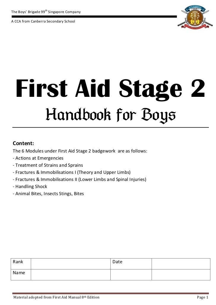 first aid notes 2 Rec first aid courses for outdoor environments and work places.