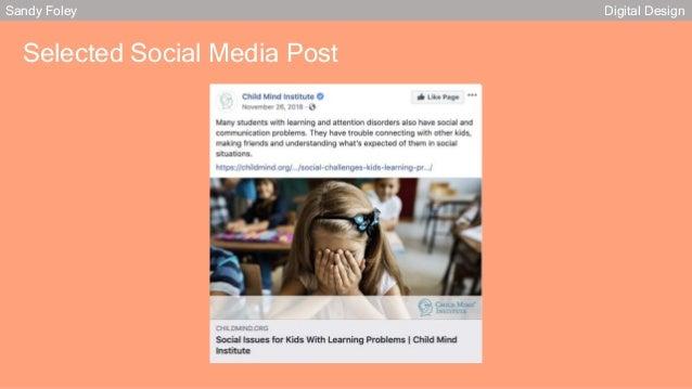 Sandy Foley Digital Design Selected Social Media Post