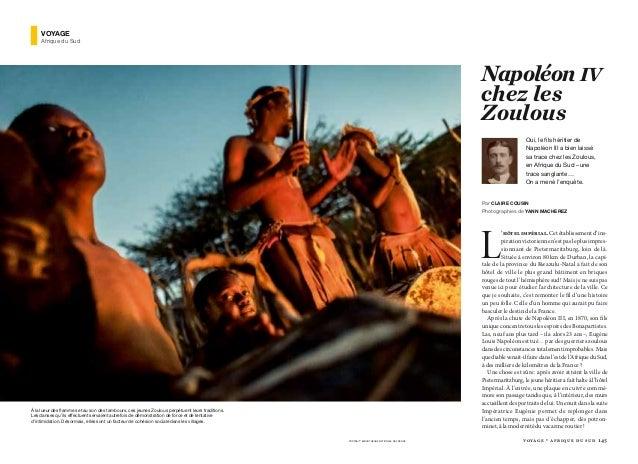 voyage • afrique du sud 145 L 'hôtel impérial. Cet établissement d'ins- piration victorienne n'est pas le plus impres- sio...