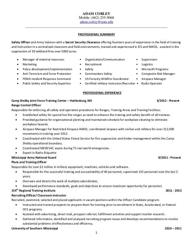 ALC Resume