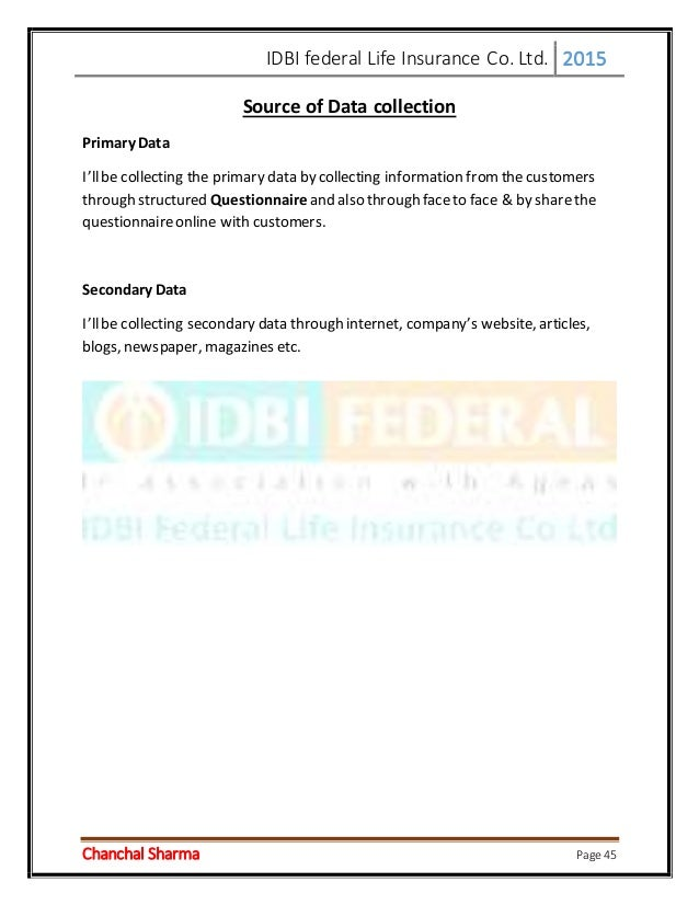 Study of Product Analysis of Idbi Fortis Life Insurance Co. Ltd. Essay