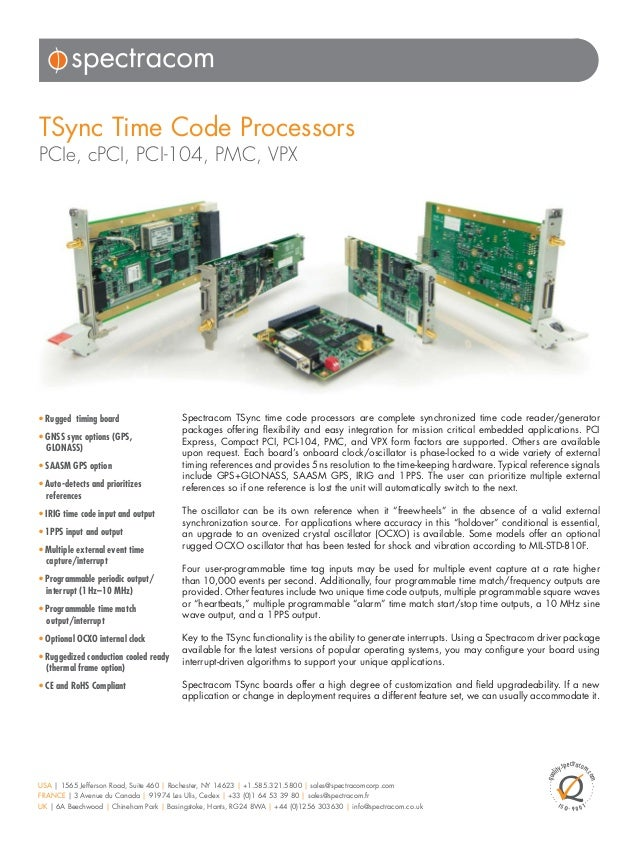 TSync_Timing_Boards_revA