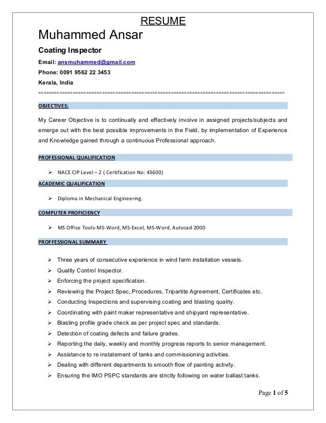 Painting Resume  Resume Cv Cover Letter