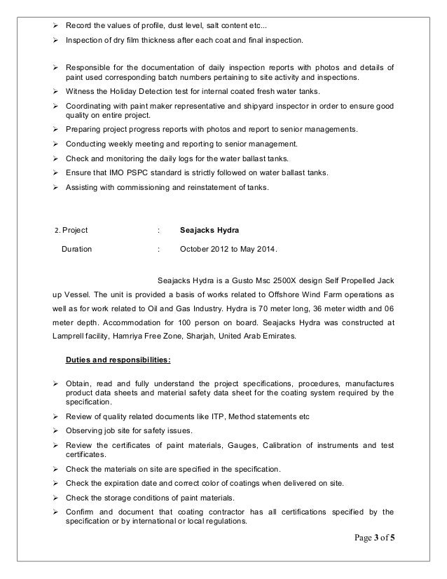 Attractive Sample Resume For Painter Composition - Professional ...