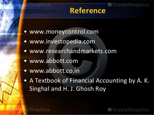 Abbott labs financial analysis