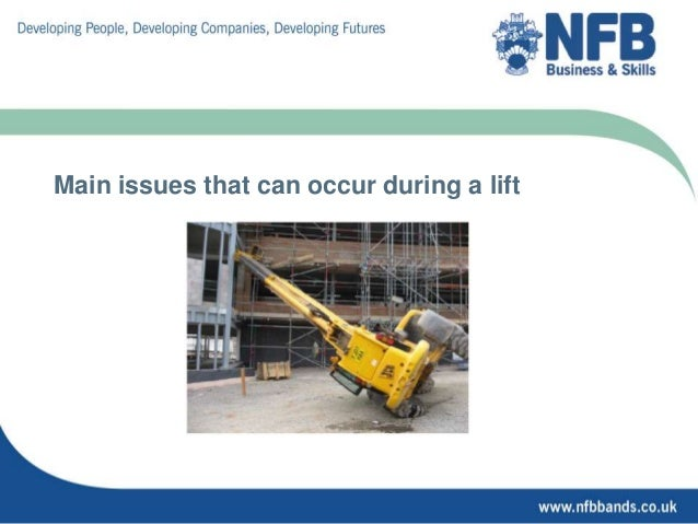 Lifting Plans For Non Crane
