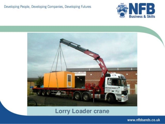 Telescopic Handler 6 Lorry Loader Crane