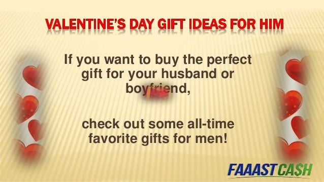 4 Lovely Valentine's Day Gifts for Him and Her Slide 3