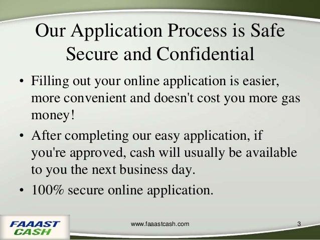 FaaastCash, Payday Loan Provider Company in California Slide 3