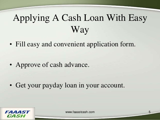 FaaastCash, Payday Loan Provider Company in California