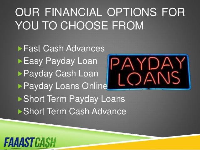 Faaast cash - helping you get cash fast Slide 3