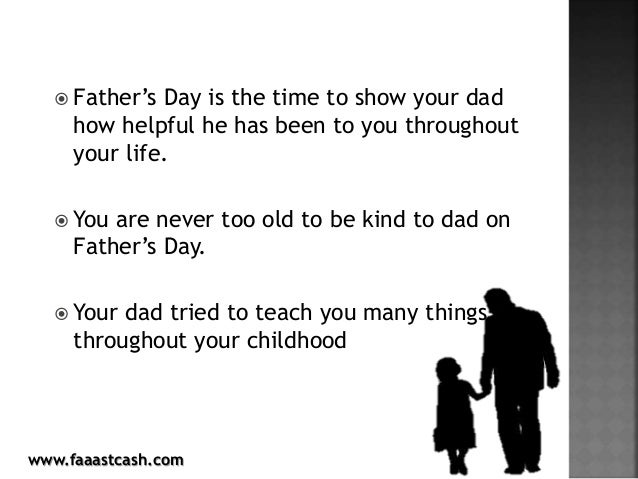 5 tips your dad wants you to know this father's day Slide 2