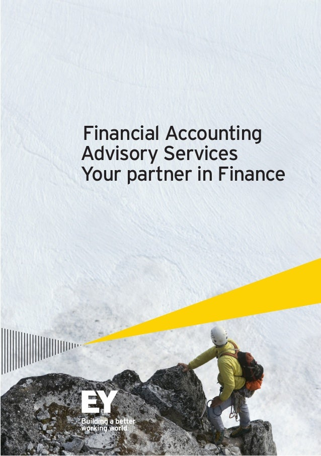 Financial Accounting Advisory Services  Your partner in Finance