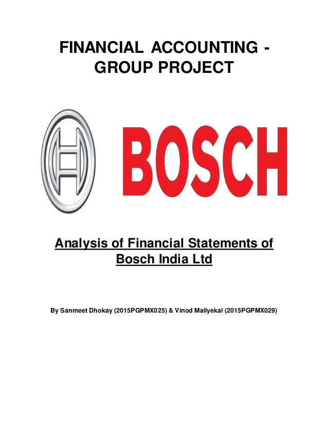 Bosch group india case study
